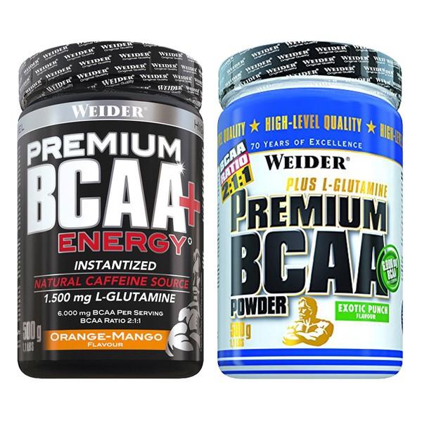 Weider Premium BCAA Powder + Energy