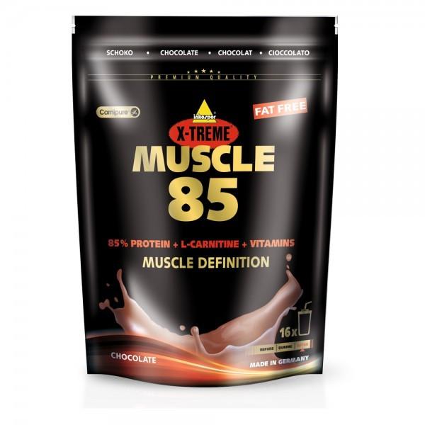 Inko X-Treme Muscle 85 Eiweißshake Nachfüllbeutel