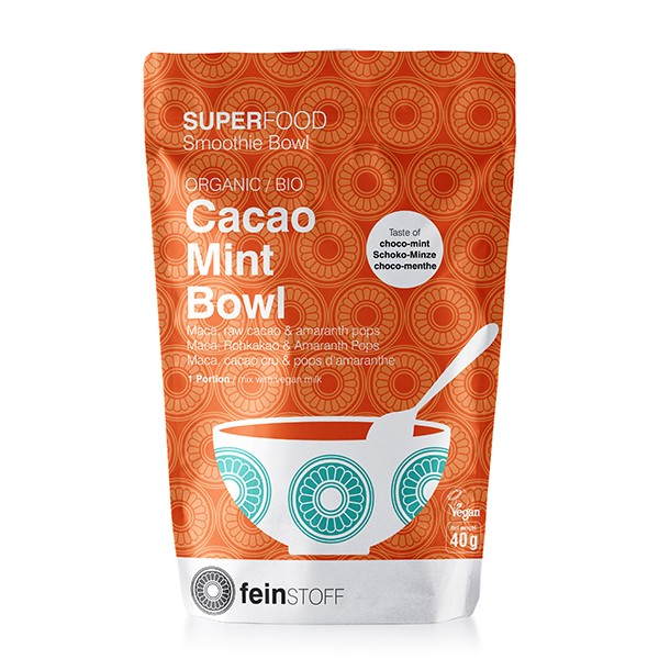 Feinstoff Cacao Mint Bowl