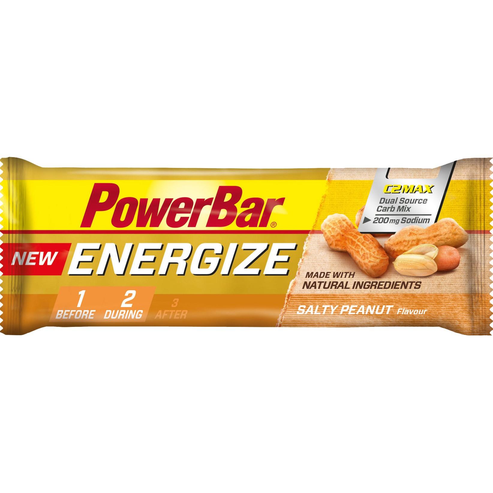 PowerBar Energize C2MAX Riegel Salty Peanut