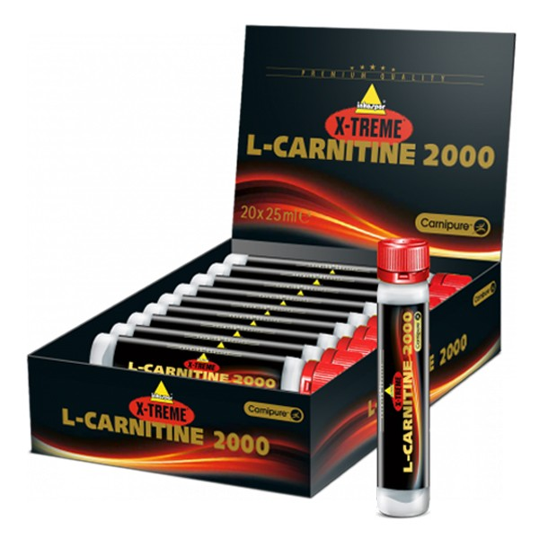 Inko X-treme L-Carnitine 2000 Ampullen