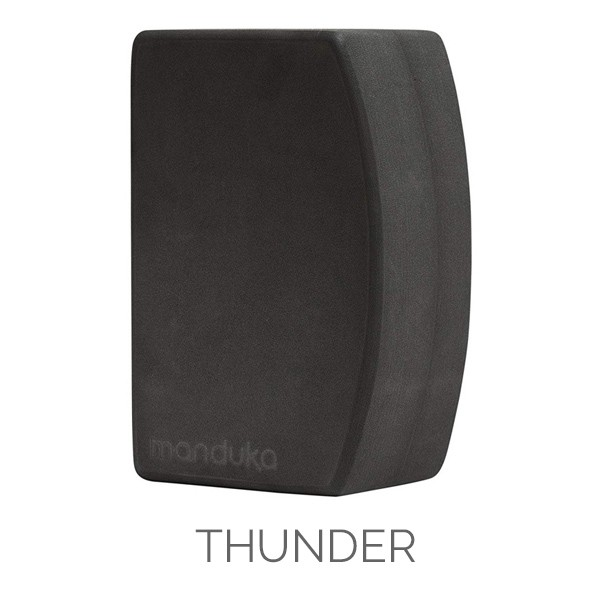 Manduka Recycled Foam UnBlock Thunder