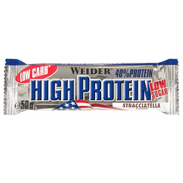 Weider 40% High Protein Low Carb Bar