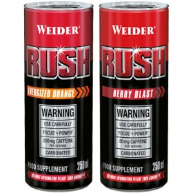 Weider Rush RTD 250ml Dose