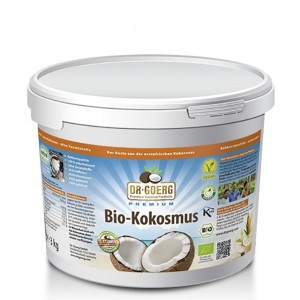 Dr. Goerg Premium Bio Kokosmus Vorratspackung