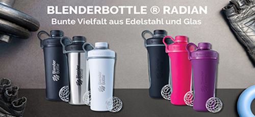 Blender Bottle Radian Glas