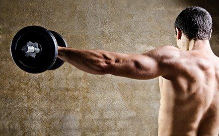 Muskelaufbau mit Sportnahrung