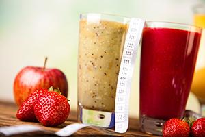 Fruchtige Proteinshakes