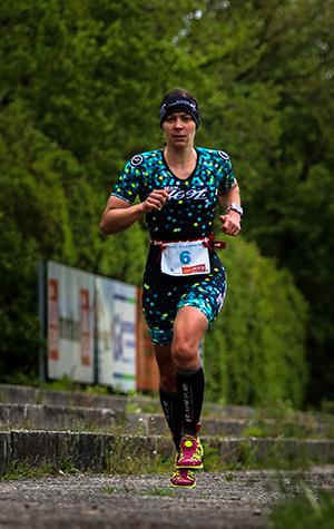 Kathi von TriYourLife beim Laufen