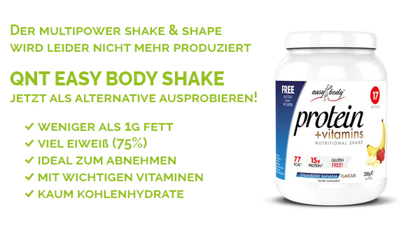 QNT Easy Body Protein Shake